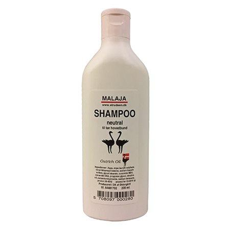Struds shampoo neutral tørt  hår Ostrich Oil