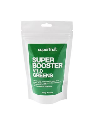 Super Booster V1,0 Greens  pulver Superfruit