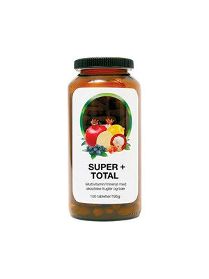 Super+ total  Multivitamin, mineral