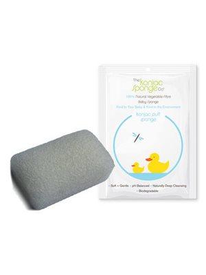Svamp baby rectangular  Den originale Konjac Sponge