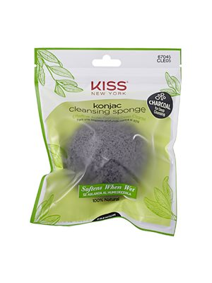 Svamp konjac charcoal  cleansing
