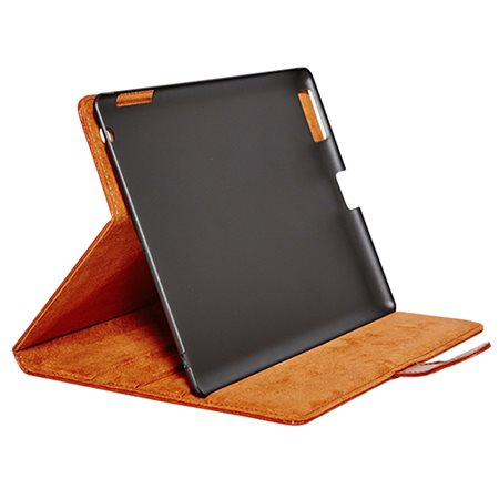 Tabletcover iPad 2/3/4 cognac brun, exclusive, RadiCover