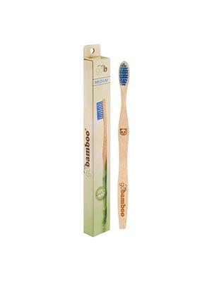 Tandbørste bambus medium voksen