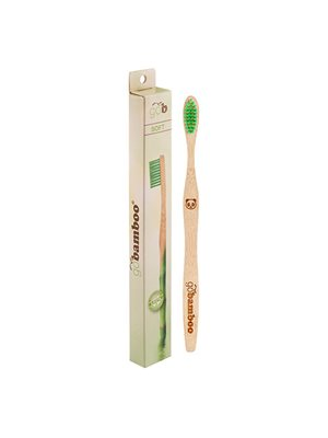 Tandbørste bambus soft voksne