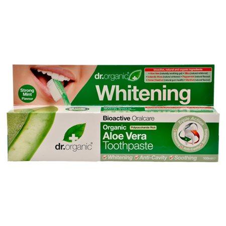 Tandpasta Aloe Vera Dr.  Organic Indeholder fluor