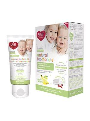 Tandpasta børn 0-3 år apple/ banana SPLAT