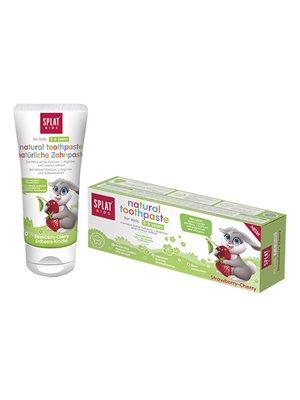 Tandpasta børn 2-6 år jordbær Kirsebær SPLAT