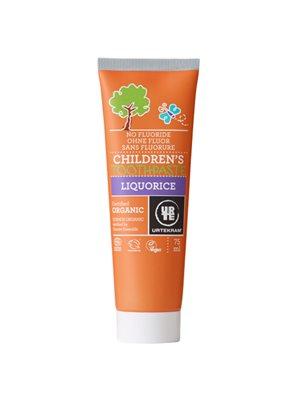 Tandpasta børn Lakrids u/flour til børn