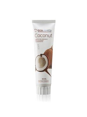 Tandpasta m. kokosnød u. flour