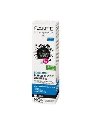 Tandpasta m. vitamin B12 uden flour Sante