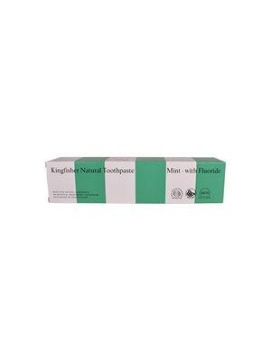 Tandpasta Mynte m. fluor Kingfischer