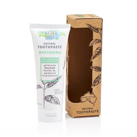 Tandpasta Naturlig Whitening