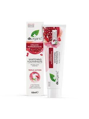 Tandpasta Pomegranate Dr.  Organic Indeholder flour
