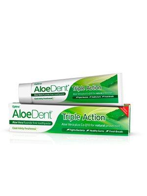 Tandpasta Tripple Action   Fluoride Free