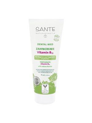 Tandpasta Vitamin B12 med  flour Sante