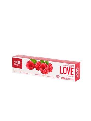 Tandpasta Whitening LOVE m. hindbærsmag