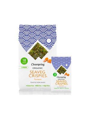 Tang chips Gurkemeje Multi Ø pack (Seaveg Crispies)