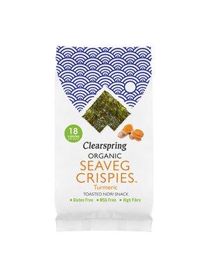 Tang chips Gurkemeje  Ø (Seaveg Crispies)