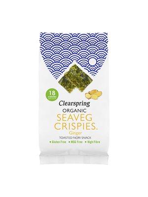 Tang chips Ingefær Ø (Seaveg Crispies)