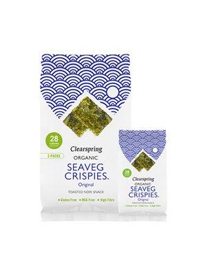 Tang chips (Seaveg Crispies) Ø Multipack 3x4g