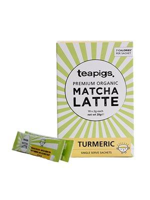 Te Matcha Latte Gurkemeje Ø  teapigs