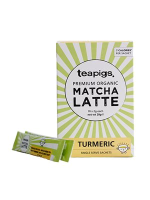 Te Matcha Latte Gurkemeje -  teapigs