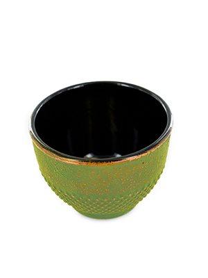 Tekop støbejern grøn/bronze