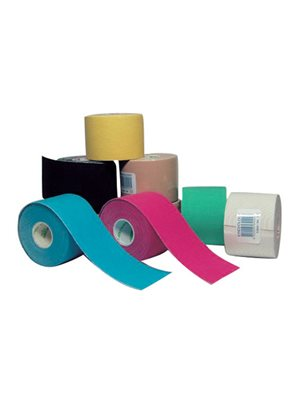 Terapeutisk tape pink 2,5cmx5m