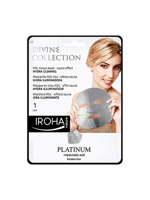 Tissue mask platinum foil   hydra glowing