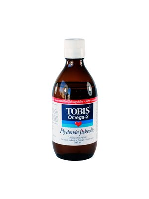 Tobis fiskeolie omega 3