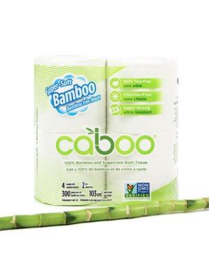 Toiletpapir af bambus 4 stk