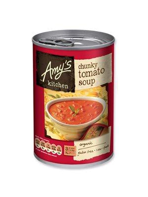 Tomatsuppe m. tomat stykker Ø