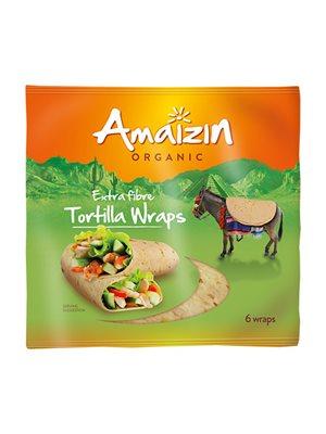 Tortilla fiber wraps 6 stk Ø
