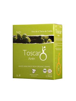 Toscar Aire∩n hvidvin Ø 12% alc.vol Clearly Organic