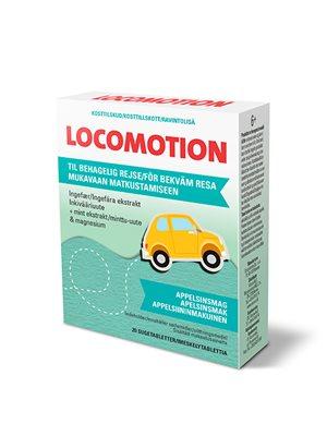 Transport sugetabletter LOCOMOTION