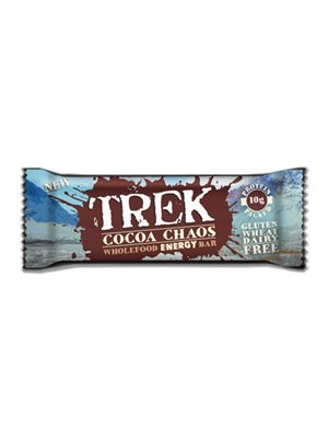 TREK Cocoa Chaos Wholefood Energy Bar