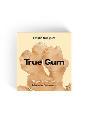 Tyggegummi Ginger & Turmeric True Gum
