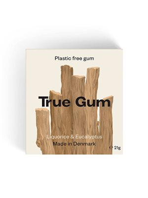 Tyggegummi Lakrids &Eucalyptus True Gum