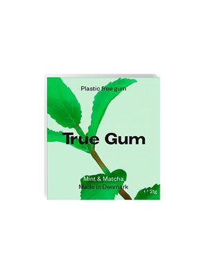 Tyggegummi Mint & Matcha True Gym