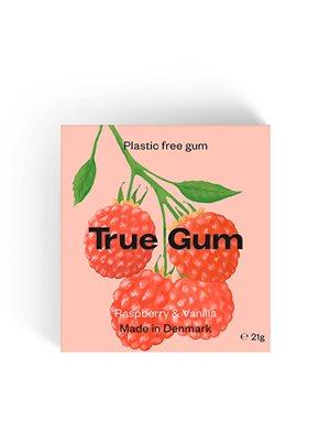 Tyggegummi Raspberry & Vanilla True Gum