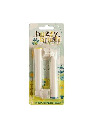 Udskiftelige børstehoveder til elektrisk tandbørste 2 stk Jack N' Jill