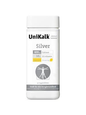 UniKalk Silver tyggetabl.  m. ekstra D