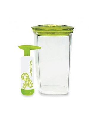 Vakuumbeholder juice, madvare  0,75 L incl. pumpe