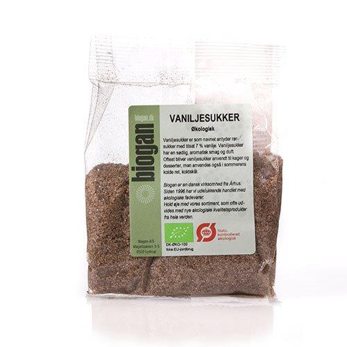 Biogan Vaniljesukker M.7% Vanilje Ø