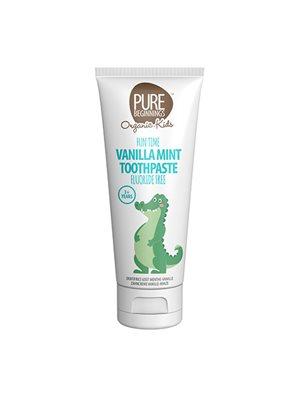 Vanilla mint toothpaste +3 år Pure Beginnings
