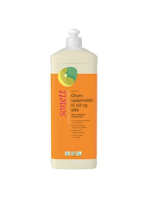 Vaskemiddel uld, silke oliven m. lavendelduft Sonett