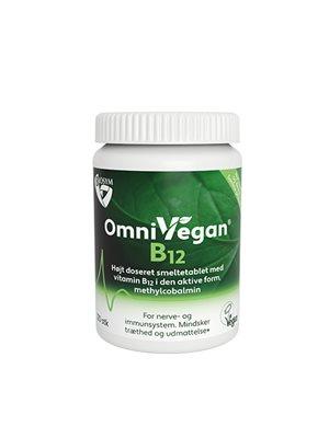 Veg B12 vitamin, smeltetablet