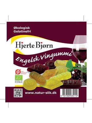 Vingummi engelsk Ø gelatinefri