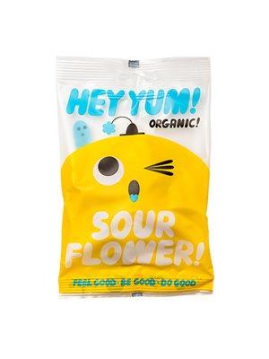 Vingummi Sour flower Ø Hey Yum