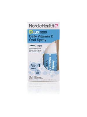 Vitamin D spray, 25 mch DLux1000 NordicHealth